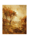 On the Ramapo River, 1888 Giclee Print by Jasper Francis Cropsey