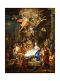 The Nativity Giclee Print by Frans Christoph Janneck
