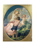 Aurora and Zephyr, 1852 Giclee Print by William Edward Frost