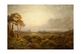 View of Manchester Giclee Print by Thomas Creswick