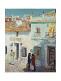 Street Scene, La Ronda, Spain, 1910 Giclee Print by Childe Hassam