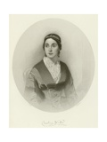 Caroline Norton Giclee Print by Thomas Heathfield Carrick