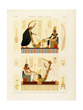 Thebes, Byban El Molouk, C.1809-1812 Giclee Print by Andre Dutertre