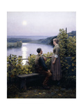 A Summer Evening, 1897 Giclee Print by Daniel Ridgway Knight