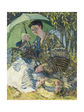 Lady with a Parasol, C.1905 Giclee Print by Frederick Carl Frieseke