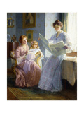 An Interesting Story Giclee Print by Francis Coates Jones