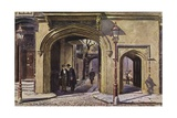 Entrance to the Charterhouse Giclee Print by Charles Edwin Flower