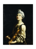 St Cecilia, 1606-1607 Giclee Print by Guido Reni