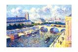 The Seine, Paris, 1892 Giclee Print by Maximilien Luce