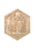 Logic and Dialectic, 1437 - 1439 Giclee Print by Luca Della Robbia