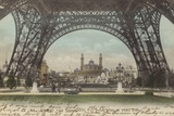 Postcard Depicting Le Trocadero Photographic Print
