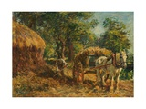 Farm Work, C.1904 Giclee Print by Mark Fisher