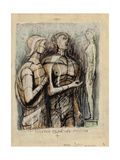 Minerva, Prometheus and Pandora Giclee Print by Henry Moore