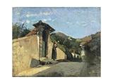 Study of Landscape, Ca 1861 Impression giclée par Cristiano Banti