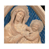 Virgin and Child, 1337 - 1341 Giclee Print by Andrea Pisano