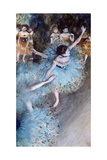 Ballerina on Pointe Giclee Print by Edgar Degas
