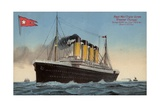 White Star Line Liner RMS Olympic Giclee Print