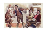 The General Election: Village Politicians Giclee Print