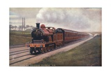 Midland Railway Leeds and Bradford Express Giclee Print