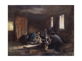 Bronze-Workers Giclee Print by Mortimer Ludington Menpes