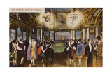 Roulette Table in a Casino, Monte Carlo, Monaco Giclee Print