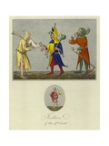 Jesters of the 14th Century Giclee Print
