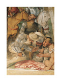 Crucifixion, 1534 - 1534 Giclee Print by Girolamo Romanino
