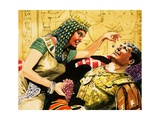Cleopatra and Mark Antony Giclee Print by Don Lawrence
