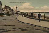 Promenade, Whitley Bay from South East Photographic Print by  English Photographer