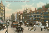 Holborn Bars, Showing Old Houses, London Photographic Print