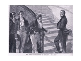 The Duke of Wellington at Almacks Ad 1830 Giclee Print by William Barnes Wollen