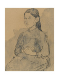 Young Girl: Marie Hamonet, C.1918 Giclee Print by Gwen John