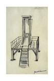 Guillotine Giclee Print by Pierre Georges Jeanniot
