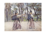 Archers Giclee Print by Mortimer Ludington Menpes