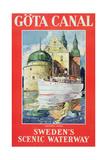 Göta Canal, C.1938 Giclee Print