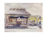 The Empty Tea-House Giclee Print by Mortimer Ludington Menpes