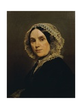 Portrait of His Mother Giclee Print by Federico Faruffini