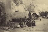 Belgian Congo - Bateke Village Near Leopoldville Photographic Print