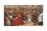 Cardinal Wolsey on His Way to Westminster Hall Giclee Print by Sir John Gilbert