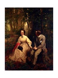 Courtship, 1864-65 Giclee Print by George Cochran Lambdin