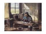 A Cloisonne Worker Giclee Print by Mortimer Ludington Menpes