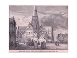 South West View of Old St Pauls Giclee Print by John Fulleylove