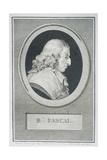Blaise Pascal Reproduction procédé giclée par Augustin De Saint-aubin