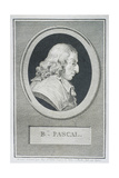 Blaise Pascal Giclee Print by Augustin De Saint-aubin