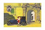 Citroen Car Giclee Print
