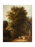 Norfolk Wooded Landscape Giclee Print by James Stark
