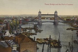 Tower Bridge and the Pool of London Photographic Print