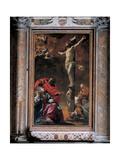 The Crucifixion, 1622 Giclée-Druck von Simon Vouet
