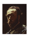 Self-Portrait, 1867 Giclee Print by Federico Faruffini