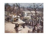 A Fete Day Giclee Print by Mortimer Ludington Menpes